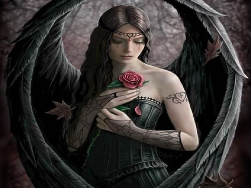 Gothic Angel - gothic Wallpaper