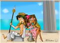 Greek gods - total-drama-island fan art