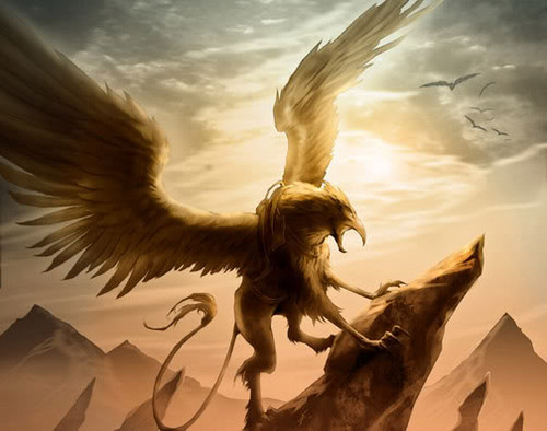 Fantasy wallpaper entitled Griffin