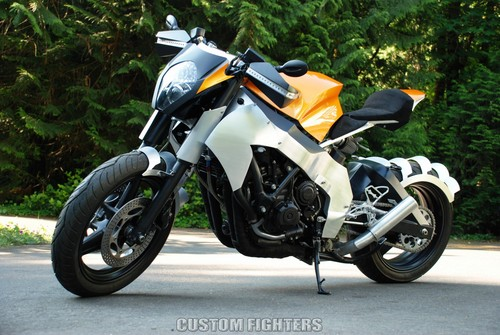 "HONDA CBR 1000F ""Custom Streetfighter"""
