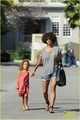 Halle Berry &amp; Nahla: Pavilions Pair - halle-berry photo