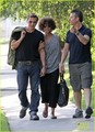 Halle Berry &amp; Olivier Martinez: Memorial Mates - halle-berry photo