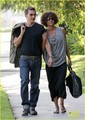 Halle Berry & Olivier Martinez: Memorial Mates - halle-berry photo