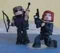 Hawkeye & Black Widow Lego figures - hawkeye-and-black-widow photo