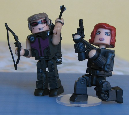 Hawkeye & Black Widow images Hawkeye & Black Widow Lego figures ...