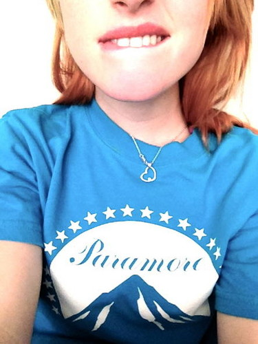 Hayley with Paramore shirt - paramore Photo