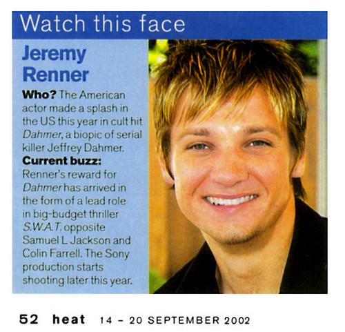Heat magazine(2002)