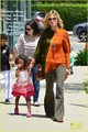 Heidi Klum, Leni, &amp; Lou: Brentwood Bunch! - heidi-klum photo