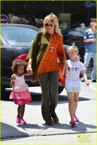Heidi Klum, Leni, & Lou: Brentwood Bunch!