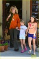 Heidi Klum, Leni, & Lou: Brentwood Bunch! - heidi-klum photo