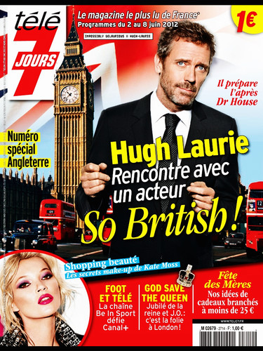 Hugh Laurie- - Télé 7 Jours - 28 May.
