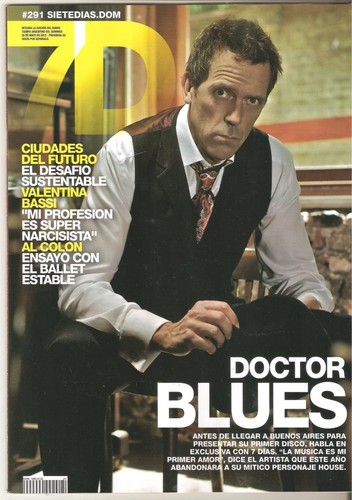Hugh laurie Magazine