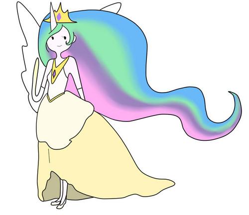 Human Princess Celestia