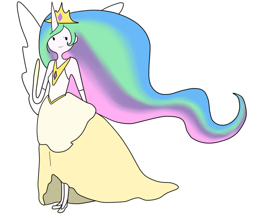 My Little Pony Princess Celestia Human