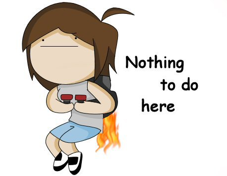 Rage Comics wallpaper titled I Have Nothing To Do Here
