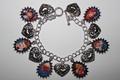 I tình yêu Lucy charm bracelet