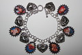I Любовь Lucy charm bracelet
