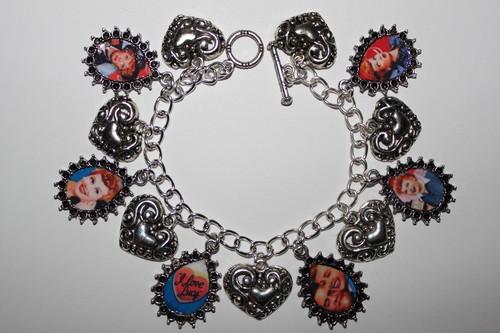 I Liebe Lucy charm bracelet