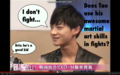 I don't fight~
