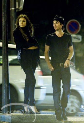 Ian and Nina in Paris, May 2012