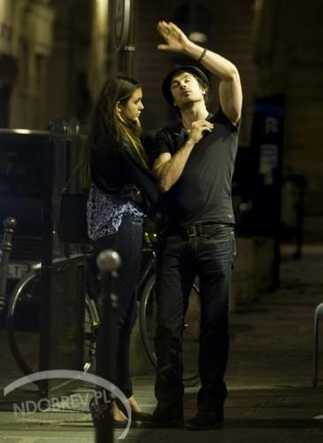 Ian and Nina in Paris, May 2012