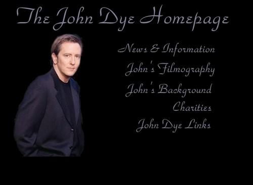 In memory of John Dye