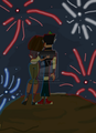 Independence day fireworks - duncan-and-courtney fan art