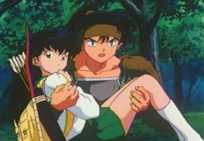 Inuyasha, Kagome and mais