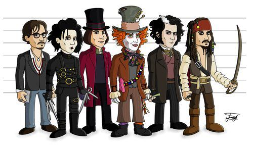 JD's funny characters:)))) - Johnny Depp's movie ...