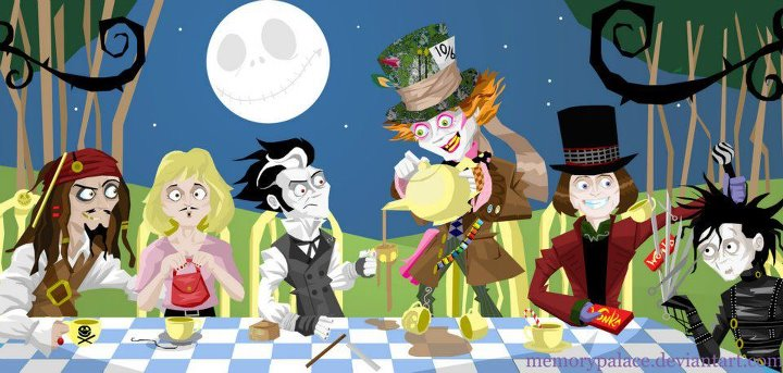 Jd S Funny Characters Johnny Depp S Movie