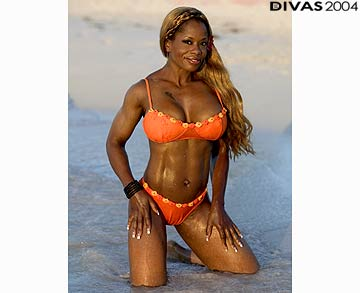 Diva WWE kertas dinding with a bikini titled Jacqueline Photoshoot Flashback