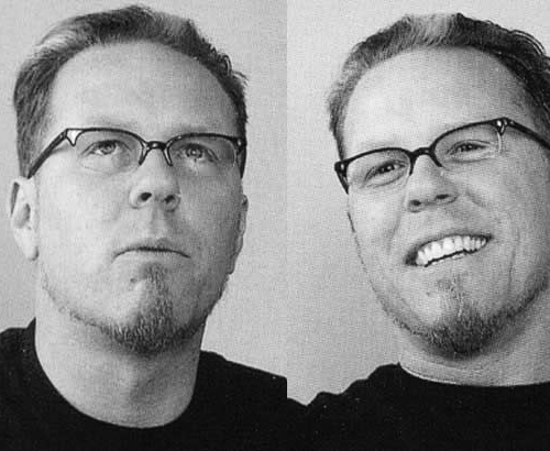 James Hetfield wallpaper possibly containing a portrait entitled James