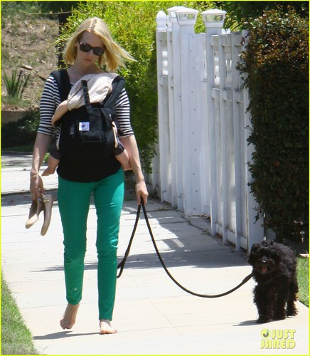 January Jones: Little Dom's Lunch with Xander!