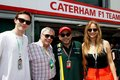 Jennifer and Nicholas at Formula 1 Race - jennifer-lawrence photo