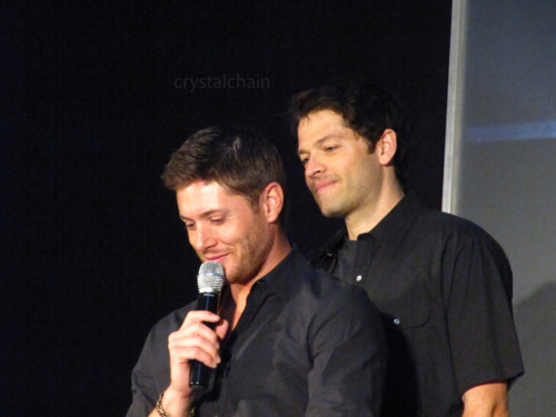 Jensen & Misha at Jus In Bello 2011