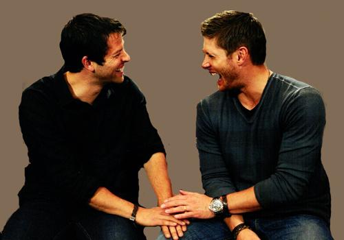 Jensen Ackles and Misha Collins images Jensen & Misha ...