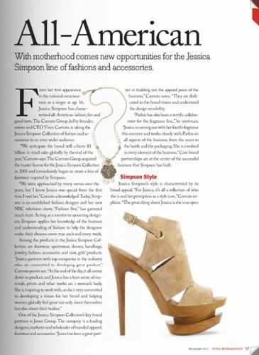 Jessica Simpson wallpaper called Jessica - Magazine Scans - Retail Merchandiser - March/April 2012