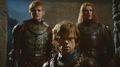 Joffrey Barathaon, Tyrion & Lancel Lannister