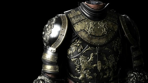 Game of Thrones wallpaper containing a breastplate, an armor plate, and a fauld entitled Joffrey's armor