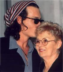 Johnny and his mom, Sweet<3