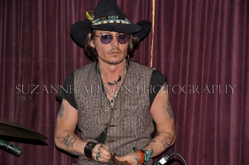 Johnny Depp images Johnny @ the Mint - 5/25/12 wallpaper and background photos