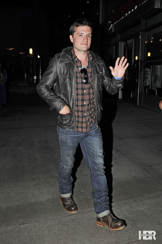Josh attends Moonrise Kingdom screening in Hollywood