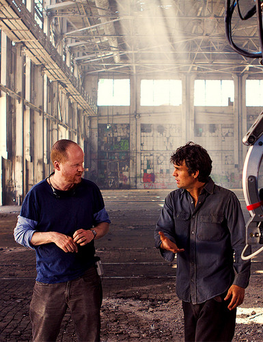 Joss Whedon & Mark Ruffalo