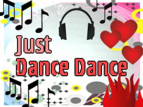 Dream Diary karatasi la kupamba ukuta entitled Just Dance Dance