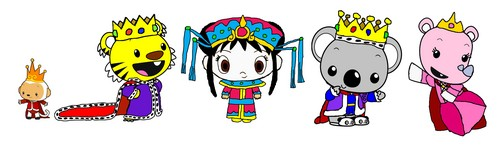Kai-Lan's Royal Adventures Characters - Main Characters