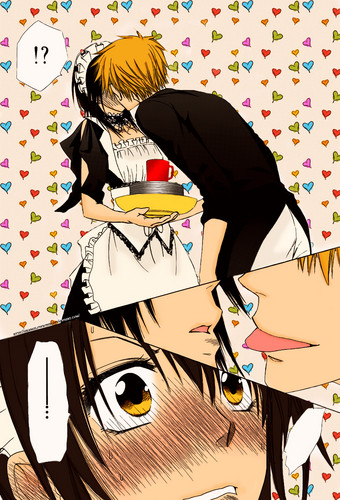 Kaichou wa Maid-sama wallpaper probably containing anime called Kaichou Wa Maid-sama! capitulo 71
