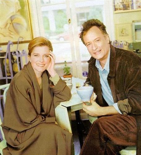 Kate Mulgrew and John deLancie