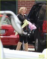 Katherine Heigl Takes Off with Baby Adalaide
