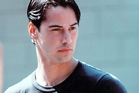 Keanu in Point Break