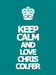 Keep calm  - chris-colfer icon